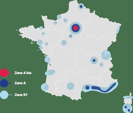 zones loi pinel