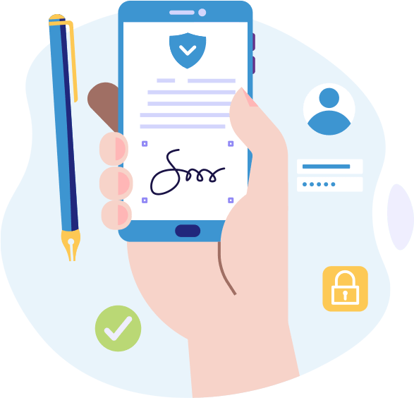 La Signature de l'acte notarié