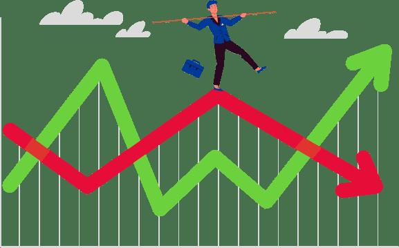 Livrets bancaires et placements boursiers